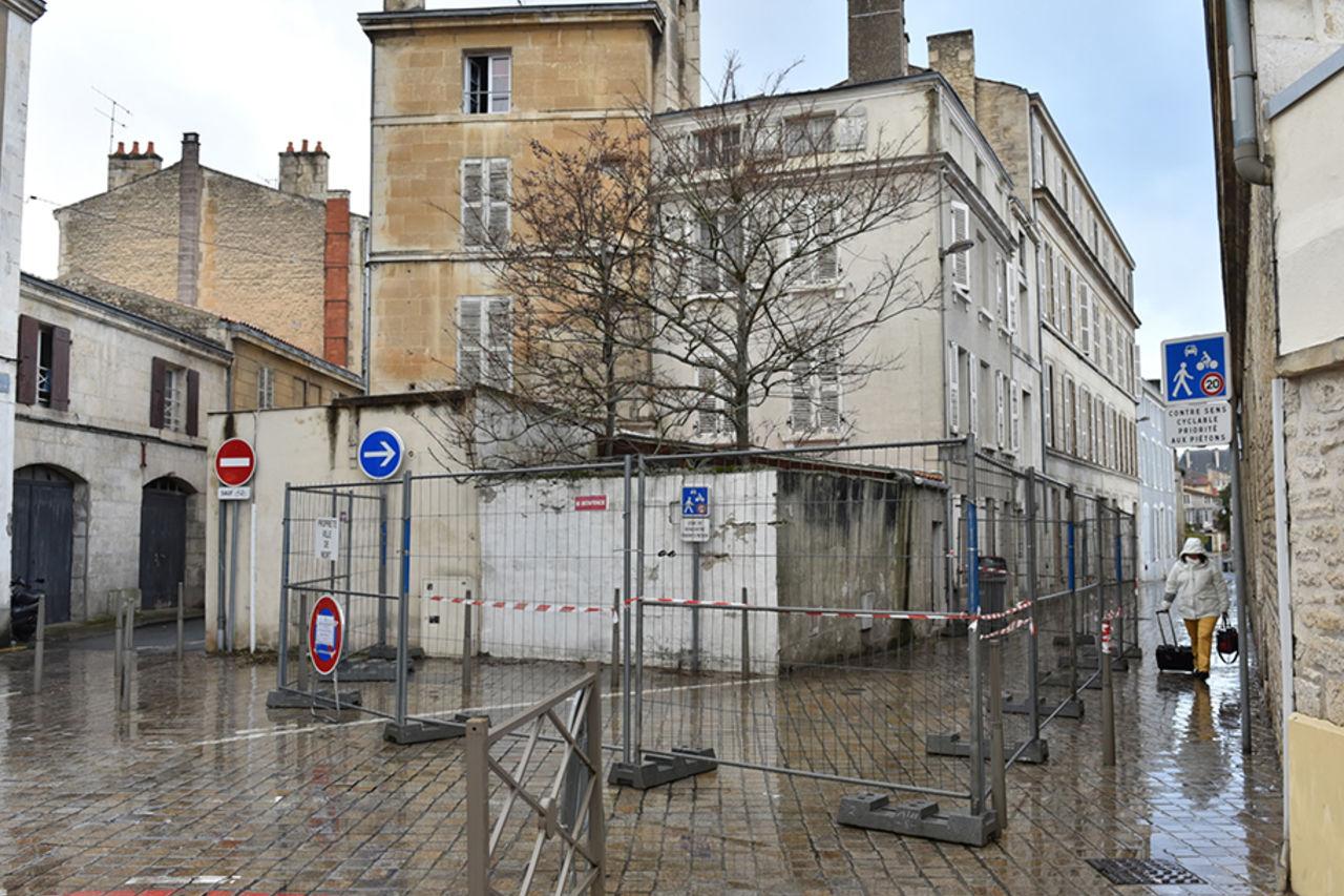 Mise en péril imminent rue du Petit Banc : Mairie de Niort