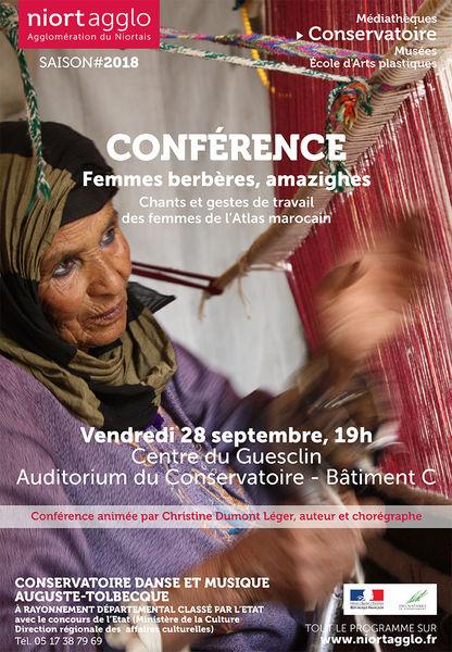 Conférence : Femmes amazighes, Femmes berbères