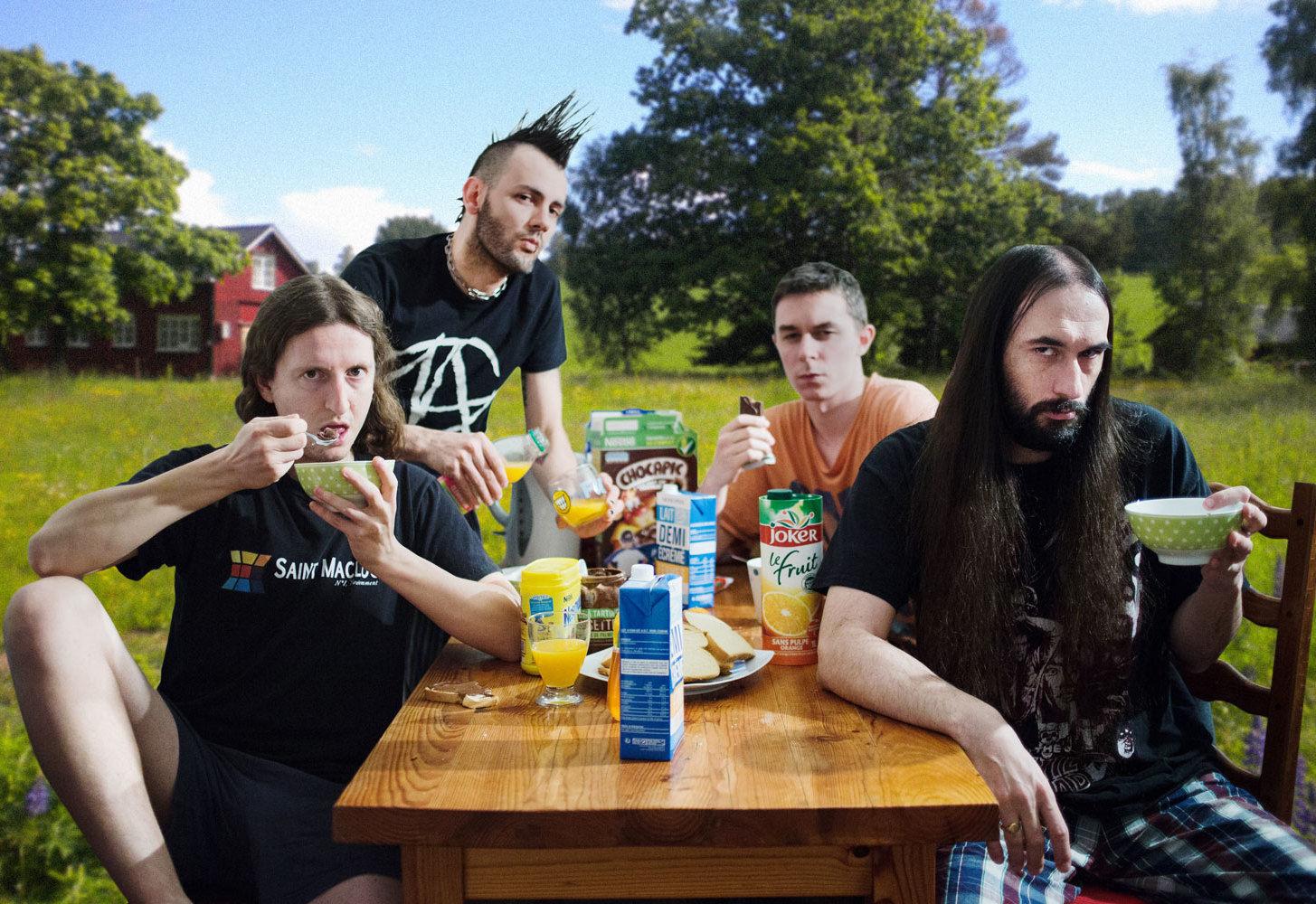 Ultra Vomit au festival Rise and Fall de Niort
