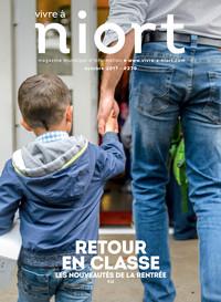 couverture Magazine vivre à niort : Numéro d'octobre 2017