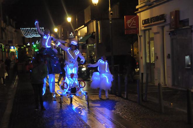 """Déambulation de Noël : """"Tricycle lumineux musical"""""""