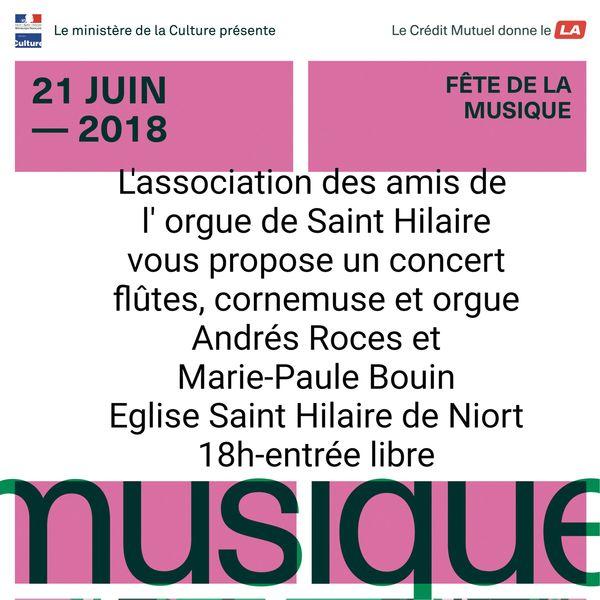 Concert flûtes, cornemuse et orgue