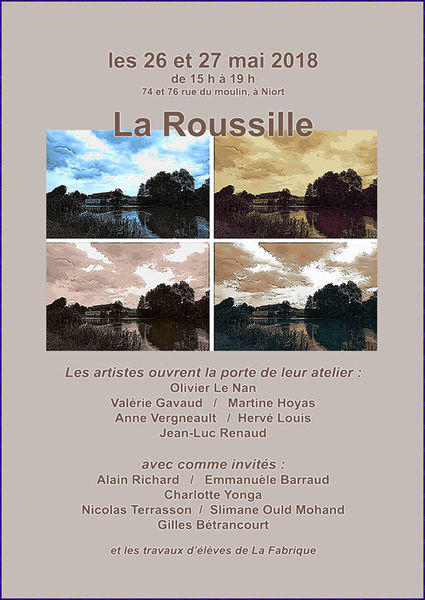Portes ouvertes : Ateliers d'artistes de la Roussille