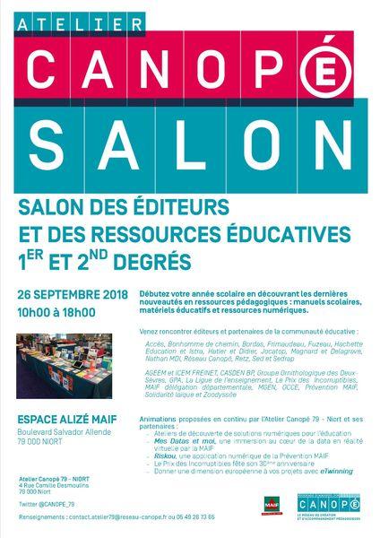 Salon des éditeurs et des ressources éducatives