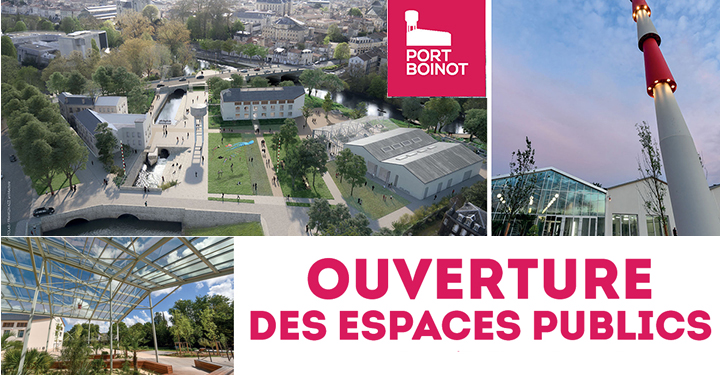 Ouverture des espaces publics de Port Boinot