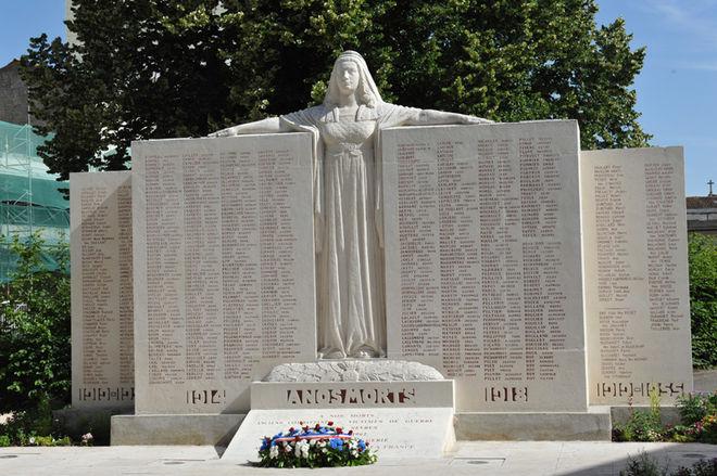 Commémoration de l'Armistice de 1918 à Niort