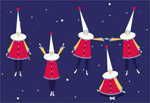 Noël Cosmique au Donjon