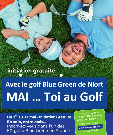 Mai toi au golf ! Initiations gratuites