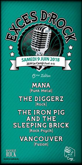 Concert : Excès d'Rock