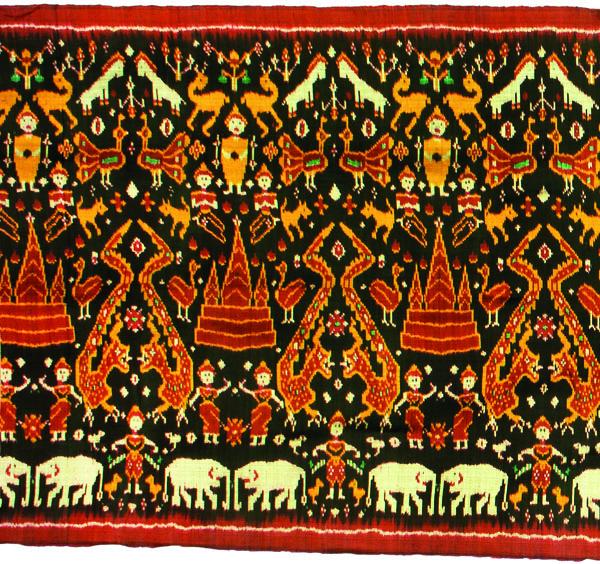 L'art au menu : les pua kumbu, tissus sacrés des Iban du Sarawak