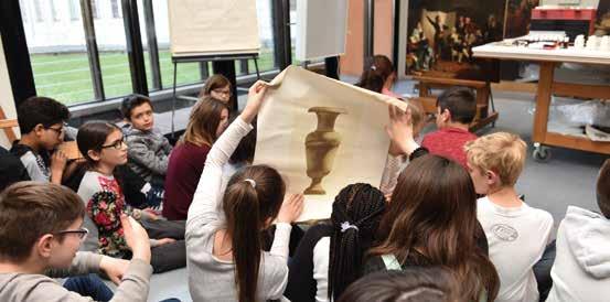 """Vacances aux musées : au fil de l'exposition """"Ikats, tissus de vie"""""""