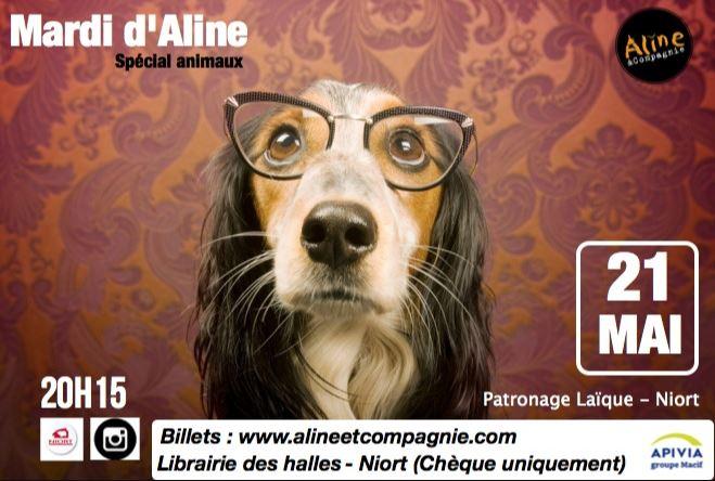 Théâtre d'impro : mardi d'Aline spécial animaux