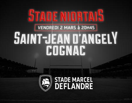 Rugby : Stade Niortais Vs Cognac