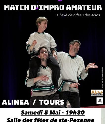 Match d'Impro amateur Alinéa/Tours