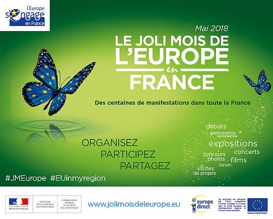 Joli mois de l'Europe : conférence de Dominique Breillat