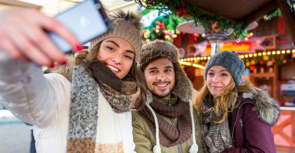 Noël : concours de Selfies