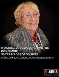 Affiche Aides avec Geneviève Gaillard