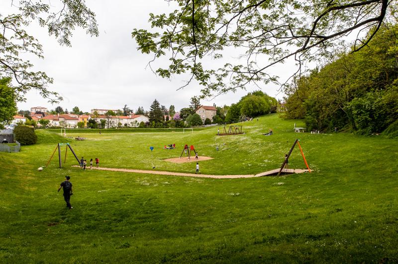 Parc du bassin d 39 orage de champclairot mairie de niort for Parc des expositions niort