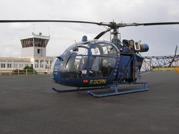 Alouette II privée