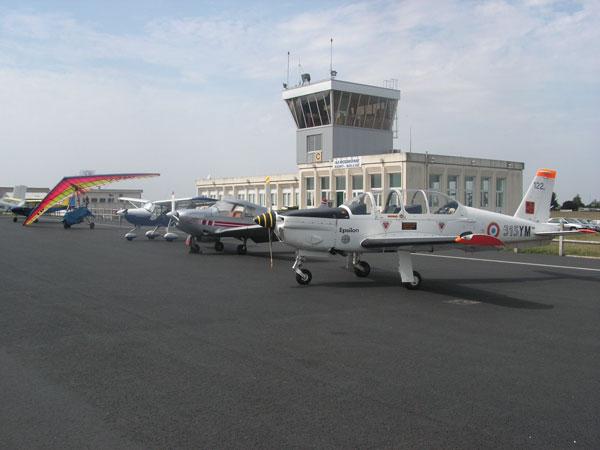 Avions participant à la Journée des Sports de l'air en 2007