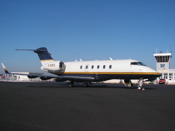 Challenger 604, jet privé