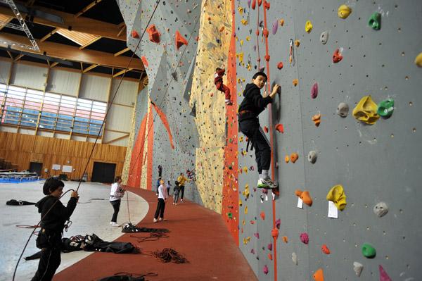 Semaine du sport à Niort - escalade