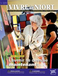 couverture Magazine vivre à niort : Numéro de mai 2012