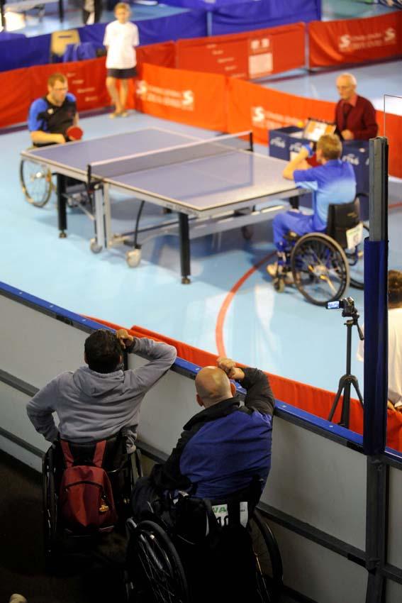 Championnat de france de tennis de table handisport mairie de niort - Champion de france tennis de table ...