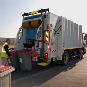 Camion de collecte des ordures ménagères © Communauté d'Agglomération de Niort