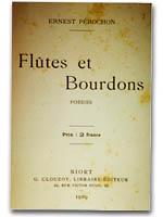 """Couverture de """"Flûtes et Broudons"""", son deuxième ouvrage"""