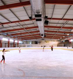 Nouvelle piste de la patinoire de Niort