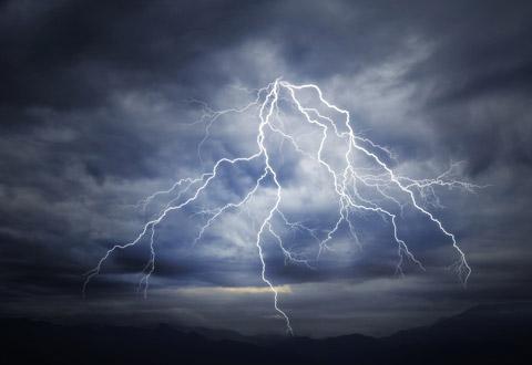 Illustration article : Risque d'orage violent