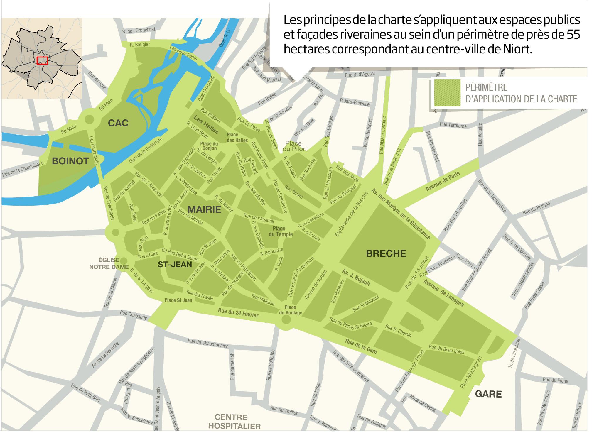 Charte De Qualit 233 Urbaine Mairie De Niort