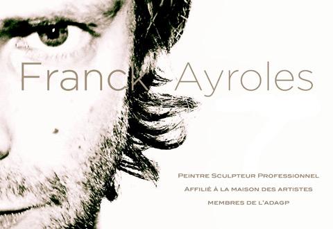 Présentation publique de la sculpture de Franck Ayroles