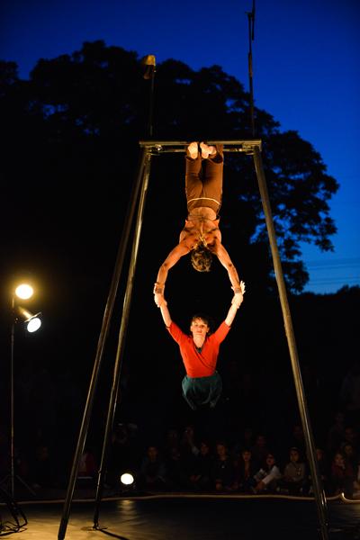 """Festival de cirque. """"Attention à ma peau"""""""