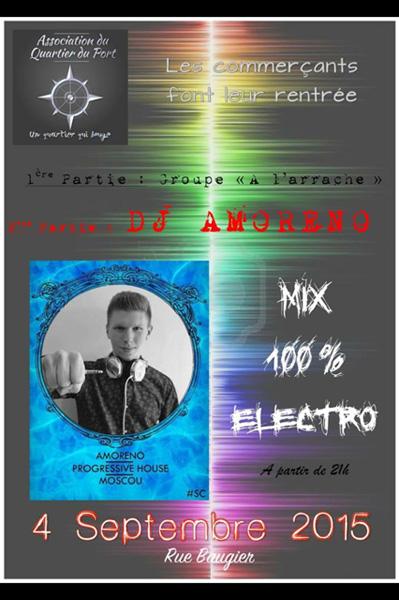 Concert. DJ Amoreno