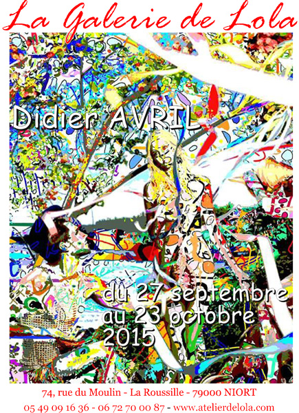 Exposition - Didier Avril