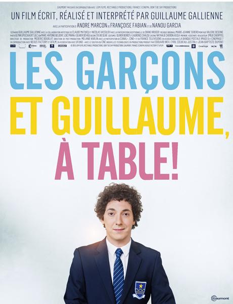 Ciné plein air. Les garçons et Guillaume à table !
