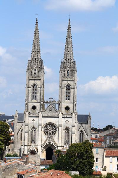 Découvrir le patrimoine niortais:l'église Saint-André