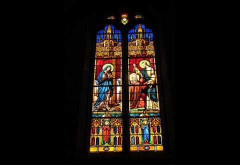 """Exposition. """"Fleurs de sacristie"""" à l'église Notre-Dame"""