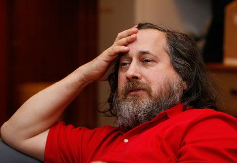 Richard Stallman, inventeur du logiciel libre - conférence