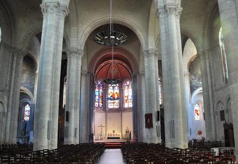 Visite de l'église Saint Hilaire