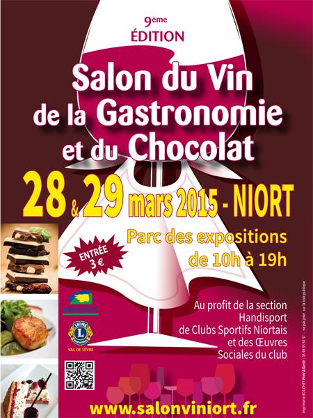 Salon du vin de la gastronomie et du chocolat mairie de for Salon de la gastronomie