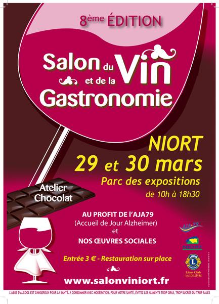 Salon du vin et de la gastronomie mairie de niort for Parc des expositions niort
