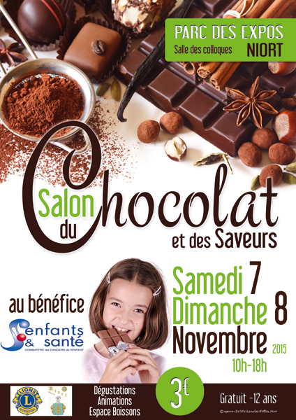 Salon du chocolat et des saveurs mairie de niort for Salon des saveurs