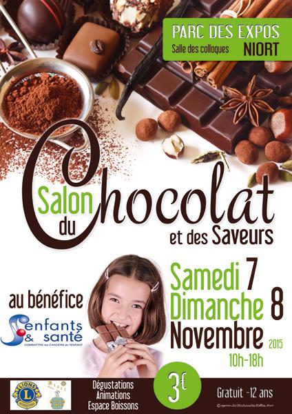 Salon du chocolat et des saveurs mairie de niort for Parc des expositions niort