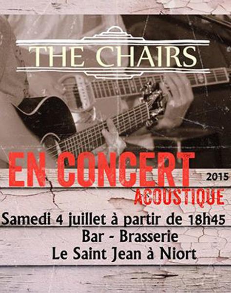 The Chairs en concert