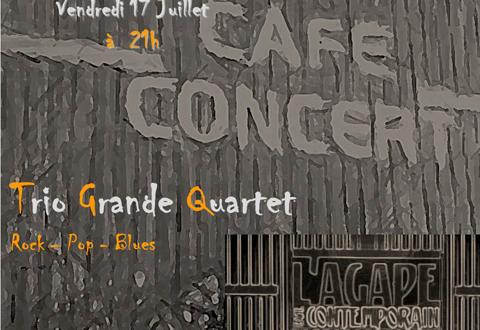Trio Grande quartet à l'Agape