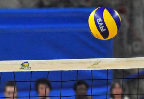 Volley-ball N2M : VBP Niort - Cercle Jules Ferry Fleury