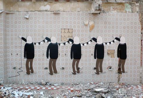 Parcours guidé. Street art